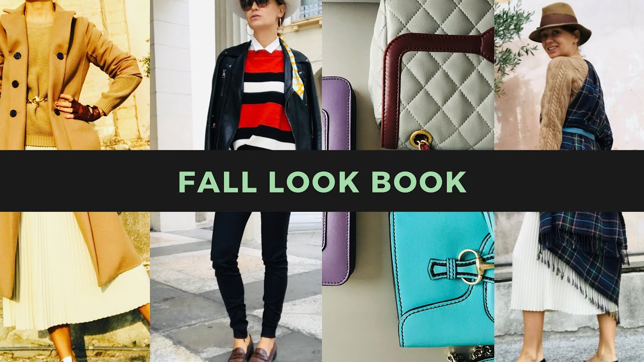 [VIDEO] - FALL OUTFITS  | fall fashion lookbook 2019 осенние образы лук бук 1