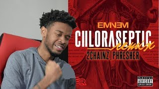 Download Eminem - CHLORASEPTIC Remix REACTION/REVIEW MP3 song and Music Video