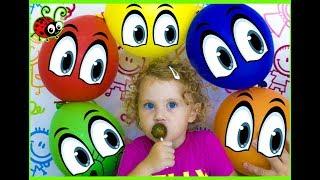 Invatam Culorile☺Filmulet Educativ pentru Copii Learn Colors Video for Kids