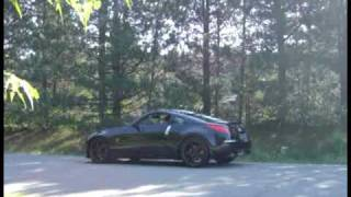 350z hks hi power dual replica exhaust stock exhaust notes