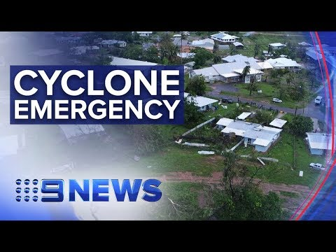 Largest evacuation ever in NT as Cyclone Trevor looms | Nine News Australia