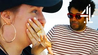 Lena Dunham & Richard Ayoade Get Seasick On Their Dolphin Boat Tour | Travel Man: 48 Hours In...