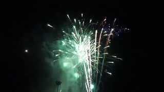 Tagum City Fireworks 2015