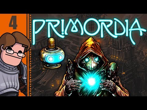 Let's Play Primordia Part 4 - Welcome to Metropol