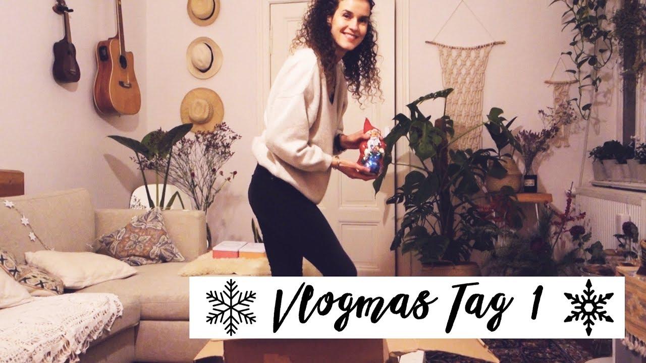 Mindful Vlogmas -Tag 1: Ich dekoriere meine Wohnung! - Mindful Vlogmas -Tag 1: Ich dekoriere meine Wohnung!
