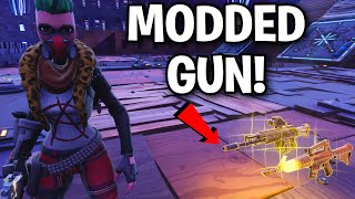 Comment a-t-il déjà eu ce pistolet modded ! 😳🤯 (Scammer Get Scammed) Fortnite Save The World
