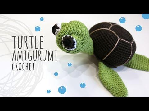 Tutorial Turtle Amigurumi Crochet Youtube