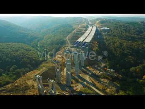Road Construction (İstanbul) - Stock Video