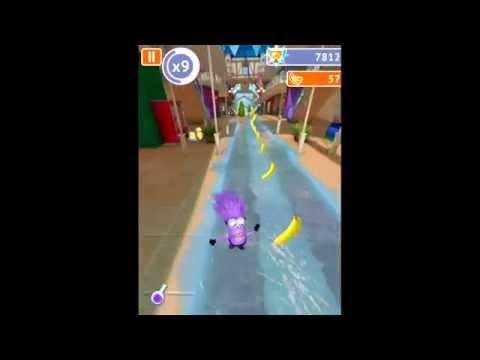 Прохождение игры Гадкий Я : Minion Rush - 32 уровень. Passage of Despicable Me: - 32 level.