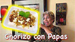 🔴 Desayuna Conmigo - Como hacer Chorizo con Papas
