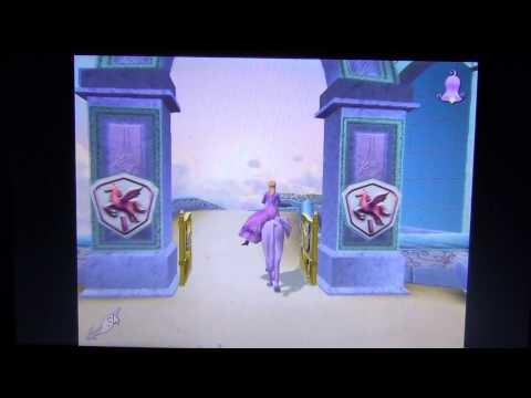 Обзор на игру барби  волшебство  пегаса  часть 1