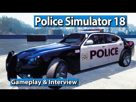 Police Simulator 18 - Polizei Simulation Gameplay und Interview [reup]► gamescom 2017