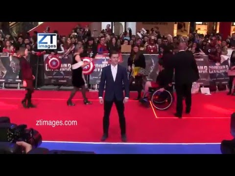 Tom Holland at the film premiere Captain America: Civil War in London, UK