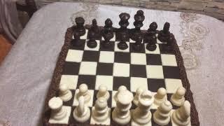 Шоколадный торт шахмат!