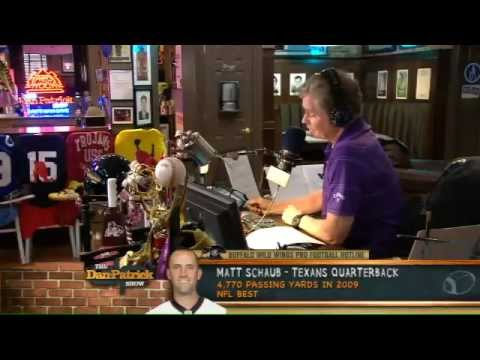 Matt Schaub on The Dan Patrick Show 10/2/12