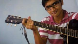 """Sadi Gali aaja"" (Nautanki Sala) Guitar lesson by Mykee"