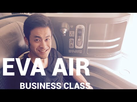 EVA Air Business Class | Boeing 777-300ER