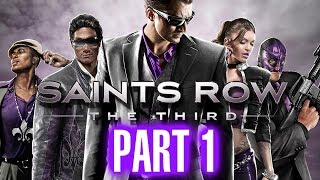 Saints Row The Third Walkthrough Part 1 - When Good Heists Go Bad - HD