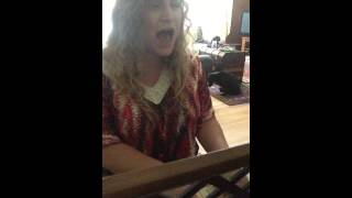 Two Steps From The Blues (cover) - Haley Parvin
