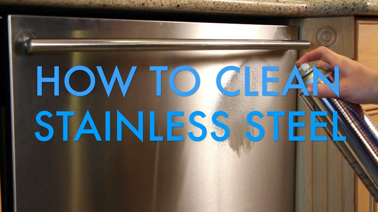 How to Clean Stainless Steel using Thor Stainless Steel Cleaner  Polish  Life is Clean  YouTube