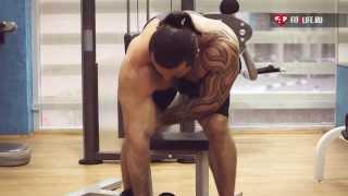 видео Концентрированные сгибания рук, упражнение для бицепса