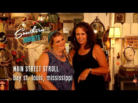Main Street Stroll: Bay St Louis, Mississippi