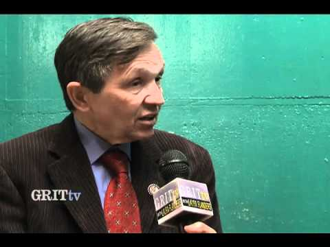 GRITtv: Dennis Kucinich: What Is Economic Democracy?