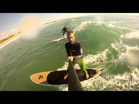 GOPRO HD PADEL SURF STAND UP LA BARROSA CHICLANA