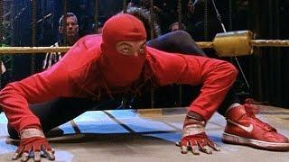 Spider-Man vs Bone-Saw - Cage Fight Scene - Spider-Man (2002) Movie CLIP HD thumbnail
