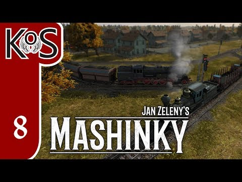 Mashinky Ep 8: PASSENGERS GROWING TOWNS - ALPHA First Look - Let's Play, Gameplay