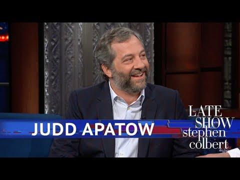 Judd Apatow Vs. Colbert: The Run Off