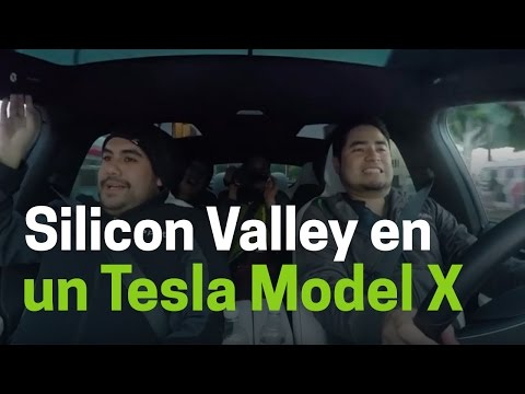 Tour por Silicon Valley en un Tesla Model X
