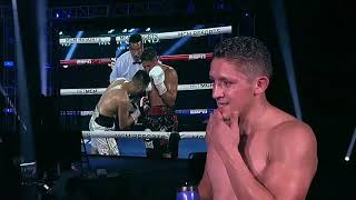 Watch the post fight interview from #giovanisantillan after his win to stay undefeated on undercard of #greerplaniatop rank espn's summer schedule res...