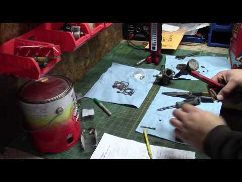 REBUILDING THE WALBRO LME TECUMSEH HH100 MF10