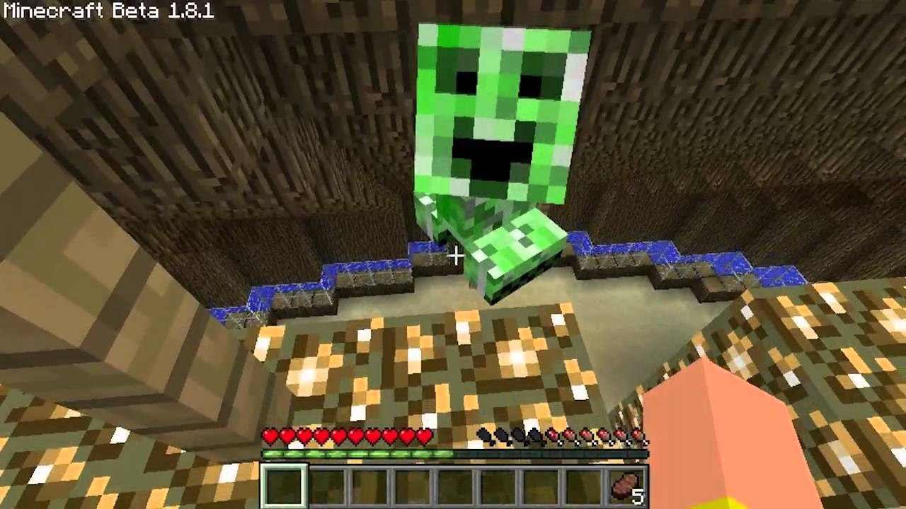 Minecraft - Episode 260 - Baby Creeper | ipodmail - YouTube