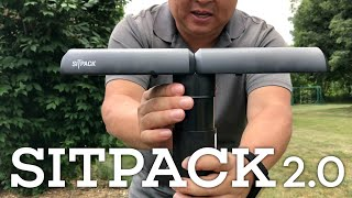 A Tiny Portable Folding Travel Seat - The Sitpack 2.0 Review