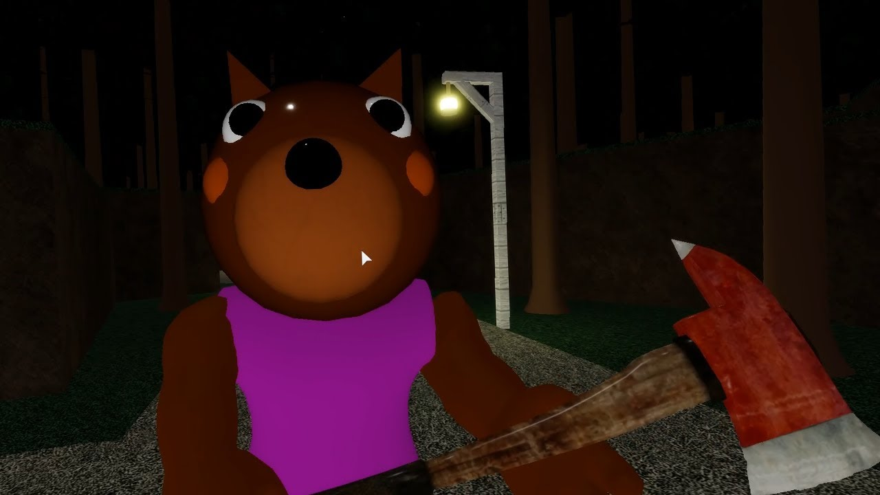 ROBLOX PIGGY DOGGY NON INFECTED JUMPSCARE - Roblox Piggy RolePlay