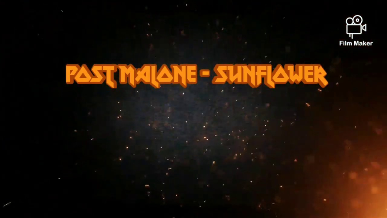 Post Malone - Sunflower lyrics - YouTube