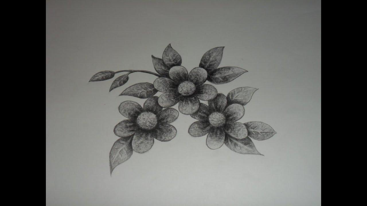 Como dibujar flores imaginarias. - YouTube
