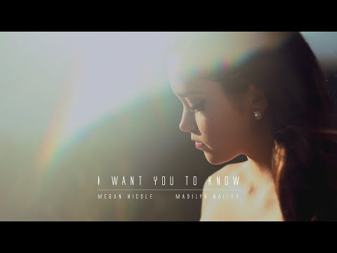 I WANT YOU TO KNOW - Zedd feat. Selena Gomez (Cover) Megan Nicole and Madilyn Bailey