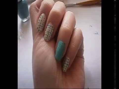 Tutorial: Nail art Fuzzy Nail (Tip top Nails South Africa)