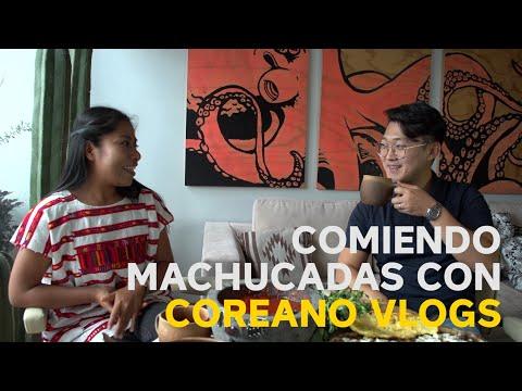 Comiendo Machucadas con Coreano Vlogs - Yalitza Aparicio