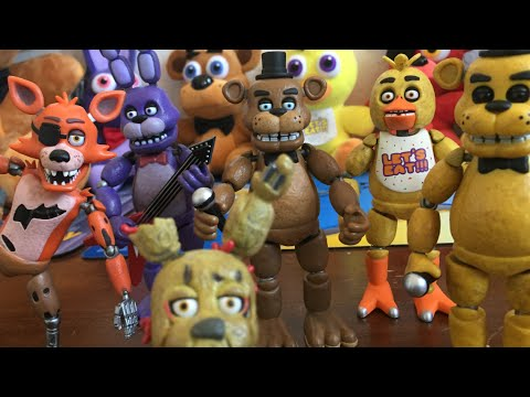 Full Set Review: FNaF Articulated Action Figures! - YouTube