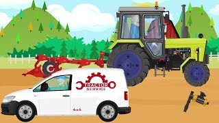 #Tractor and failure - Machine Service for Kids | Traktor i awaria