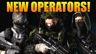 ALL 3 NEW OPERATORS SHOWCASE! | WEAPONS, ABILITIES, & MORE! | Ghost Recon Wildlands PVP