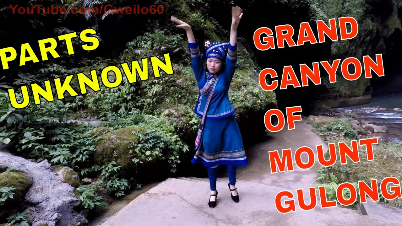 PARTS UNKNOWN CHINA - GRAND CANYON of MOUNT GULONG