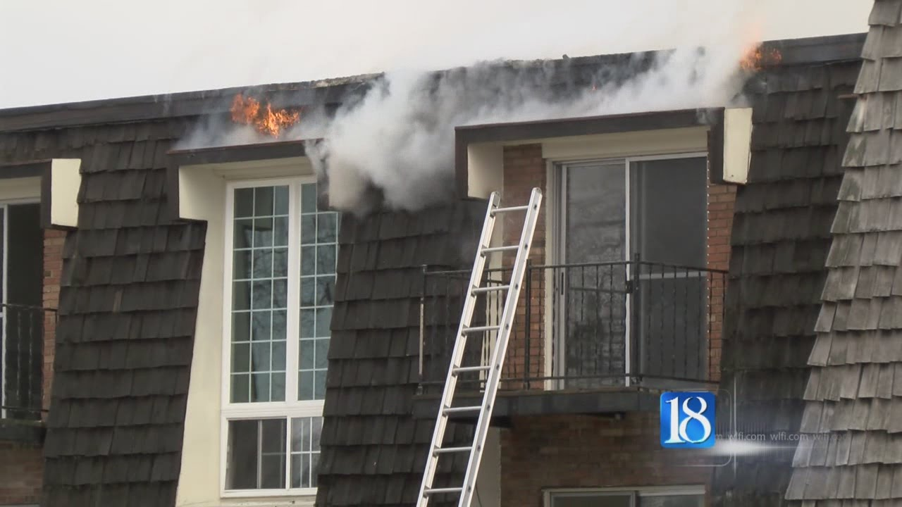 fire erupted at beau jardin apartments youtube