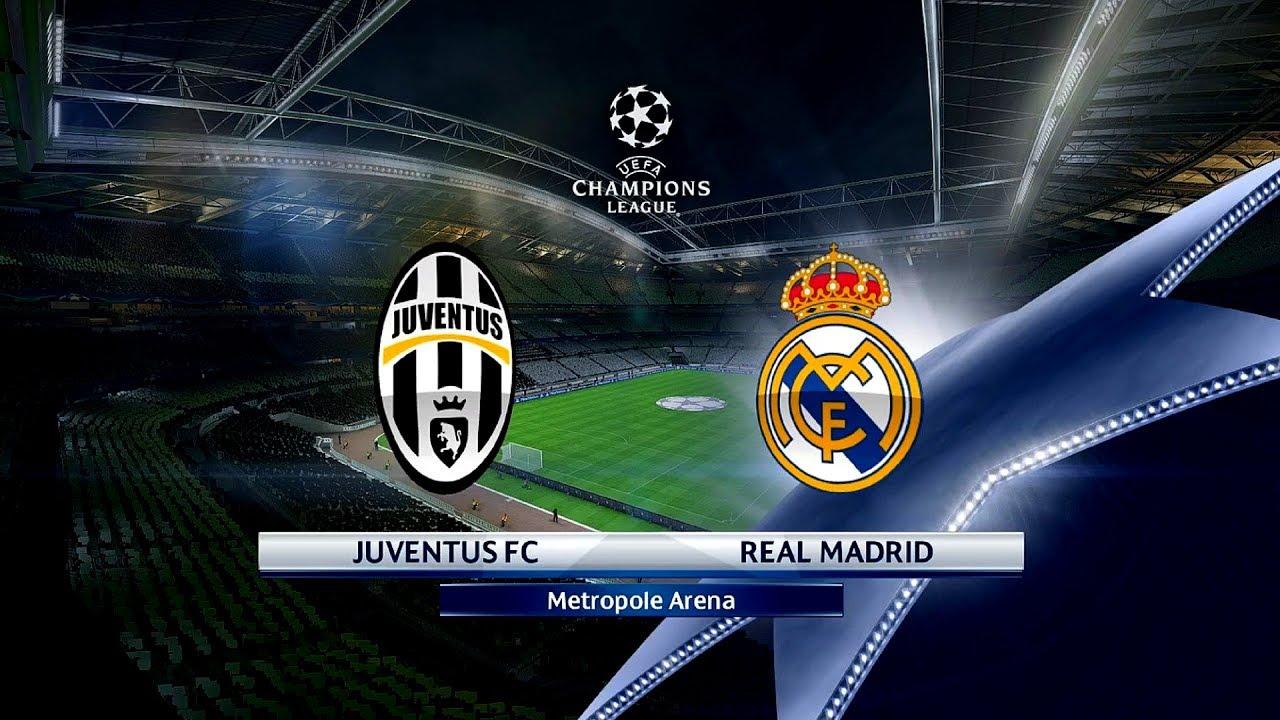pes 2017 juventus f c  vs  real madrid c f  uefa champions
