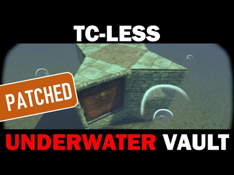 The Ocean Vault - NEW Non-Decaying Underwater Hidden Loot Base (TC-Less)