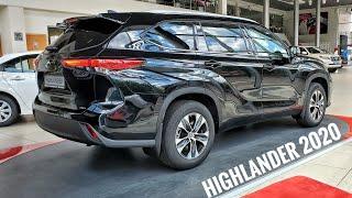 НОВЫЙ HIGHLANDER 2020. Тойота держит марку? Обзор Toyota Highlander 2020 Elegance
